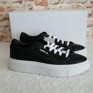 New Adidas Clean Sleek Sneakers